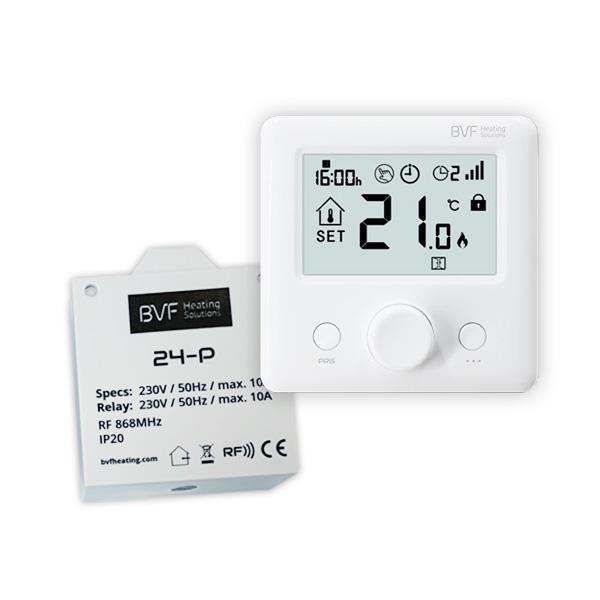 BVF 24-FP - RF termostat pre ovládanie infrapanelov
