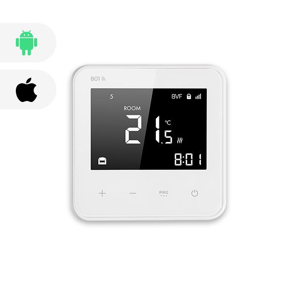 BVF 801 WIFI izbový termostat + podlahový senzor 3m - biela