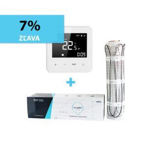 BVF H-MAT 150w/m² vykurovacia rohož + BVF Heato9 izbový termostat