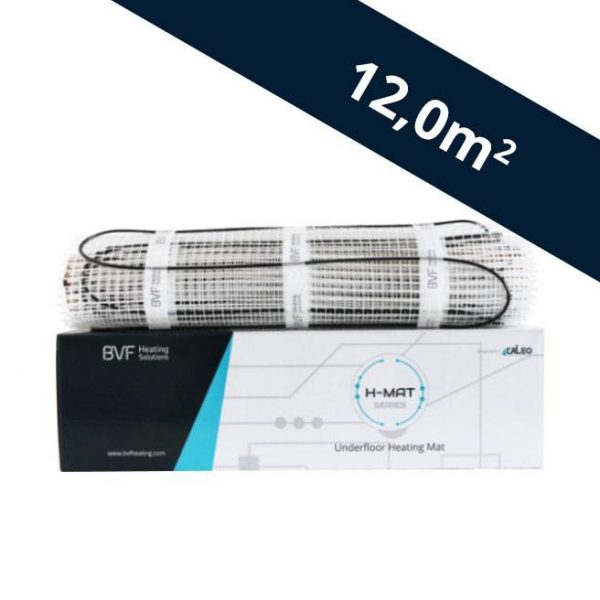 BVF H-MAT vykurovacia rohož 150 watt/m² - 12