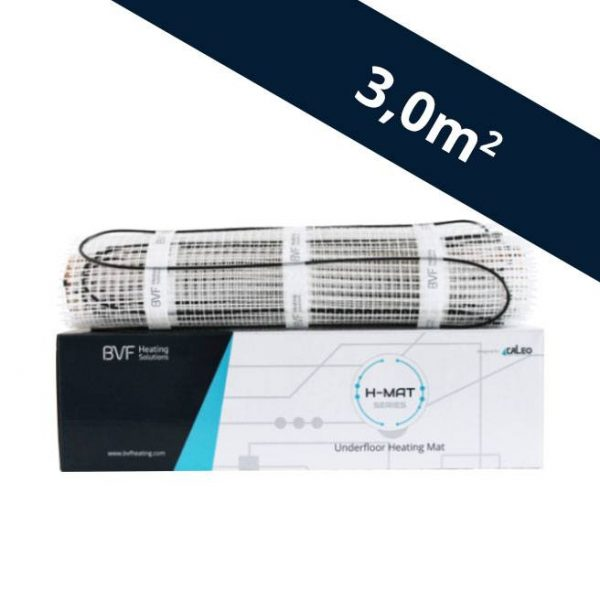 BVF H-MAT vykurovacia rohož 150 watt/m² - 3