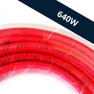 Vonkajšie vykurovacie káble BVF SX SNOW DEFROST 22.9m 640W