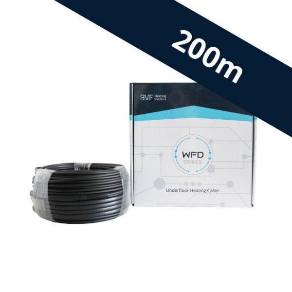 BVF WFD 10 vykurovací kábel - 10 w/m² - 200 m