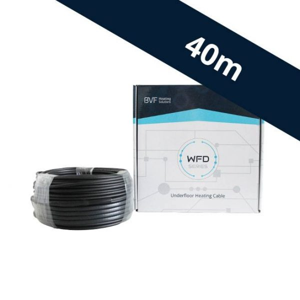 BVF WFD 10 vykurovací kábel - 10 w/m² - 40 m