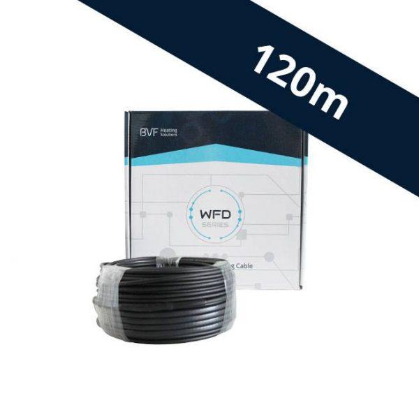 BVF WFD 10 vykurovací kábel - 10 w/m² - 120 m