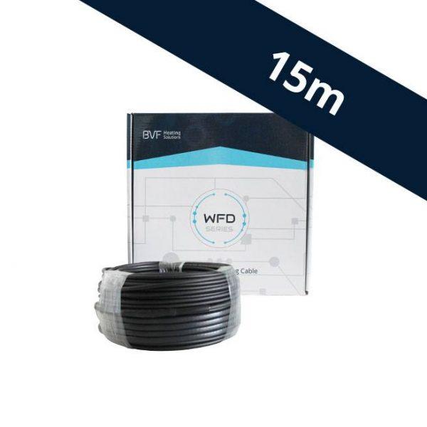 BVF WFD 20 vykurovací kábel - 20 w/m² - 15 m