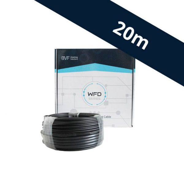 BVF WFD 10 vykurovací kábel - 10 w/m² - 20 m