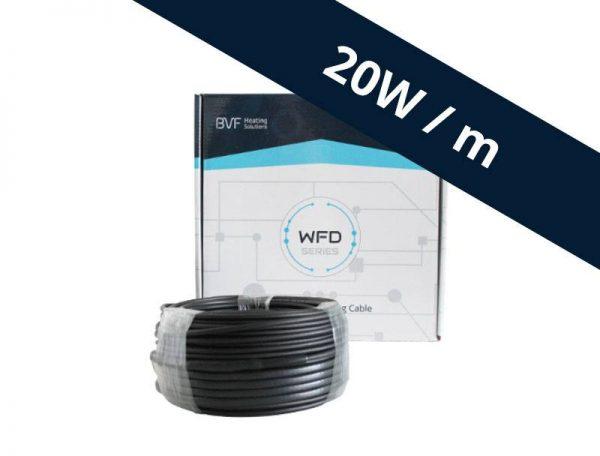 BVF WFD 20 vykurovací kábel - 20 w/m²