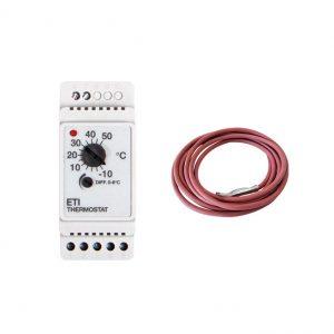 ETI-1551 termostat na vyhrievanie potrubí + ETF teplotný senzor