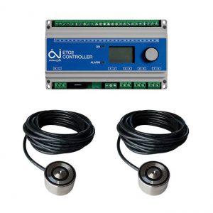 ETO2 termostat + 2ks ETOG55 podlahový senzor