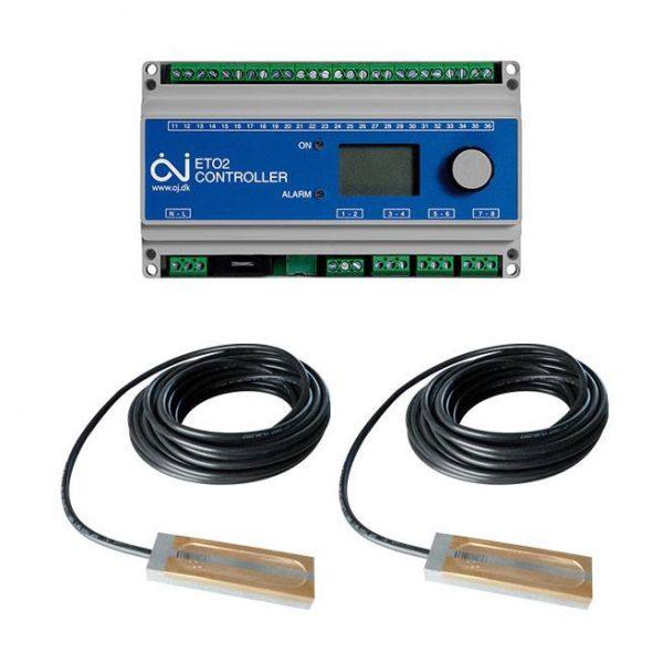 ETO2 termostat + 2x ETOR55 senzor