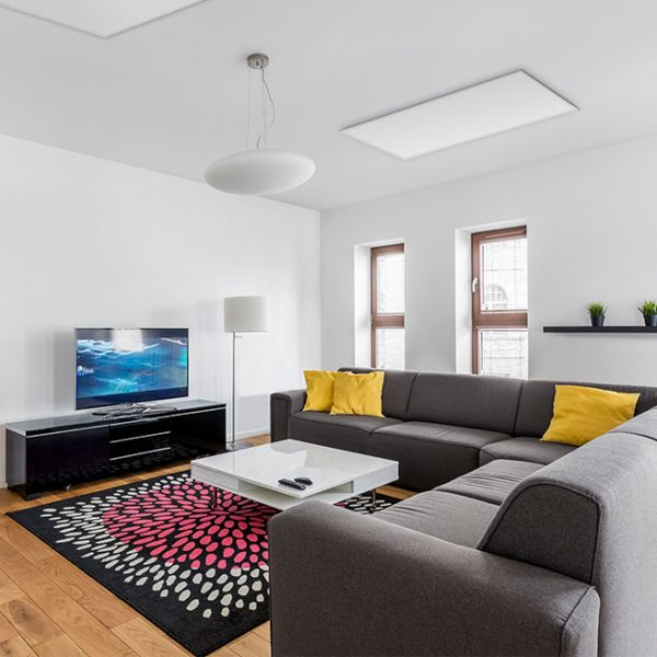 Upevňovacia konzola pre infra panely na strop