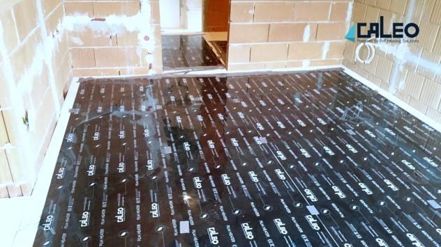 Podlahové infra kúrenie pre novostavby CALEO EFFICIENT